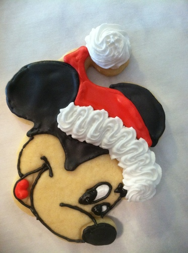 Mickey Mouse Christmas Cookie Cutter 3D Print 108281