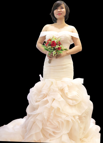 lady in wedding dress 3D Print 108395