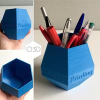 Small OLBA 3D Printing Pen/Pencil Holder 3D Printing 108408