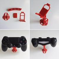 Small 4 Part Dualshock Support 3D Printing 108409