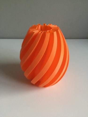 3d Printed Flexi Vase 001 By Olba3d Pinshape