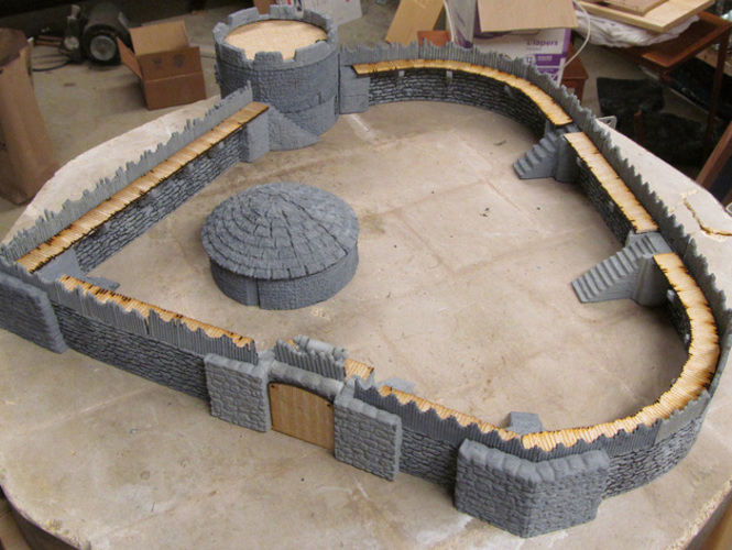 graphic about Free 3d Printable Terrain referred to as 3D Released Wheelbarrow and picket barrels as a result of Roderick