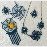 Small Spider set 3D Printing 108472