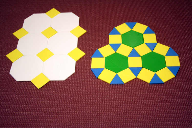 Tessellations, hands-on math 3D Print 108542