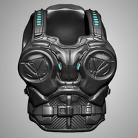 Small JD Fenix (Gears of War 4) Armor 3D Printing 108581