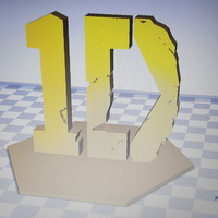 Small One direction 3D Printing 108620