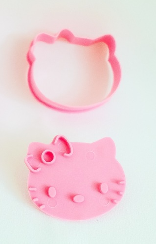 Cookie Cutter Hello Kitty 3D Print 108707