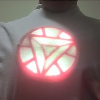 Small Solar iron man Arc Reactor  3D Printing 108716