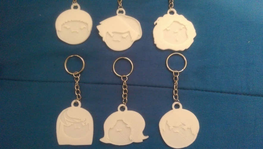 Game Grumps Keychains 3D Print 108753