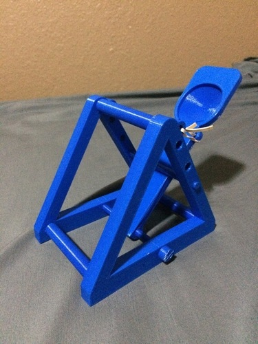 Catapult with 3 launch angles 3D Print 108864