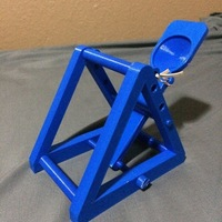 Small Catapult with 3 launch angles 3D Printing 108864