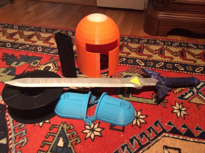 Zelda Master Sword and custom Armour   3D Print 108893