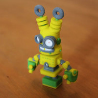 Small Electro Pete 3D Printing 10891