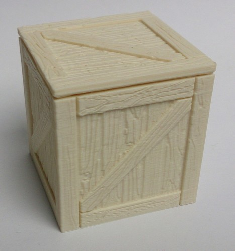 Wooden crate / box 3D Print 108955