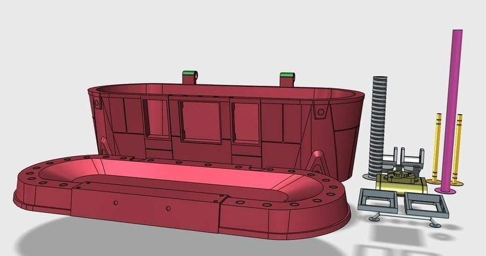 Borderlands Red Loot Chest 3D Print 108984