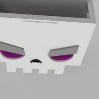 Small SkullFace Mask from Slayaway Camp 3D Printing 108996