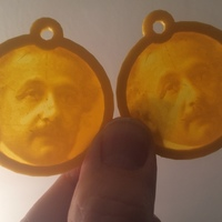 Small Einstein-young 3D Printing 109095