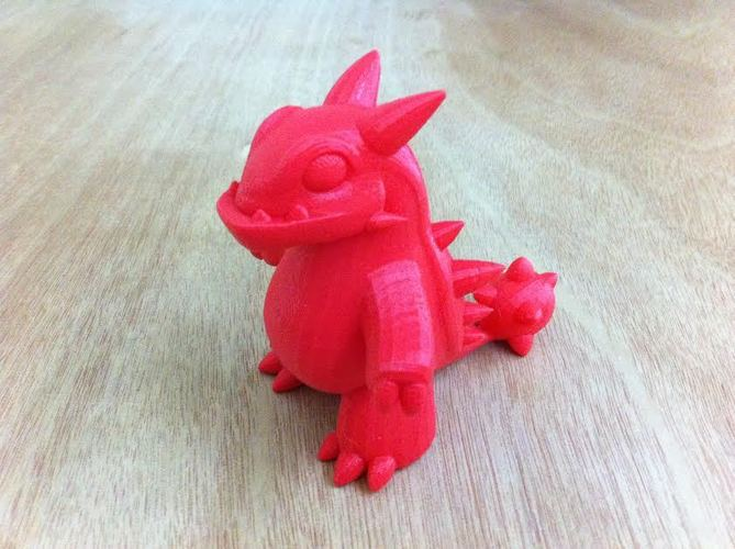 Genetic Mix Dinosaur 3D Print 10921