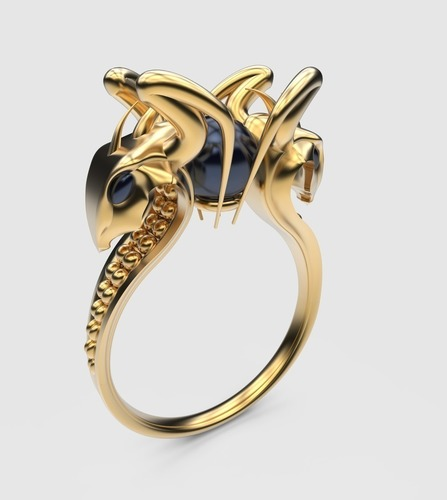 Dragon keeper ring 3D Print 109377