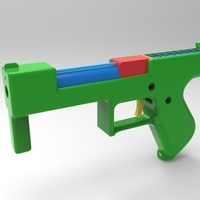 Small prop gun - blowback 3D Printing 109458