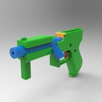 Small bolt action gun 3D Printing 109465