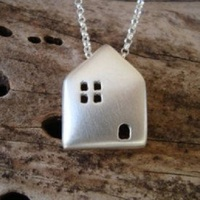 "Small Pendant ""House"" 3D Printing 109474"