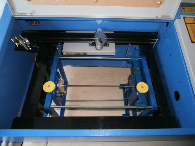Quarto asse Vers. 2.1 (Fourth axis) Laser 40 W chinese 3D Print 109575