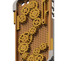 Small Gears iPhone 5/5s/SE Case 3D Printing 109752