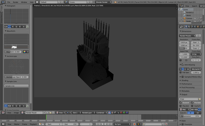 Minecraft Throne Room (Kings Landing) 3D Print 109776