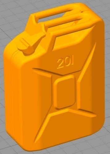 Jerry can 20l- RC 1/10 3D Print 109934
