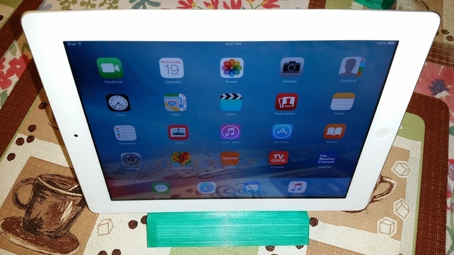 Yet another cell phone + iPad stand 3D Print 109951