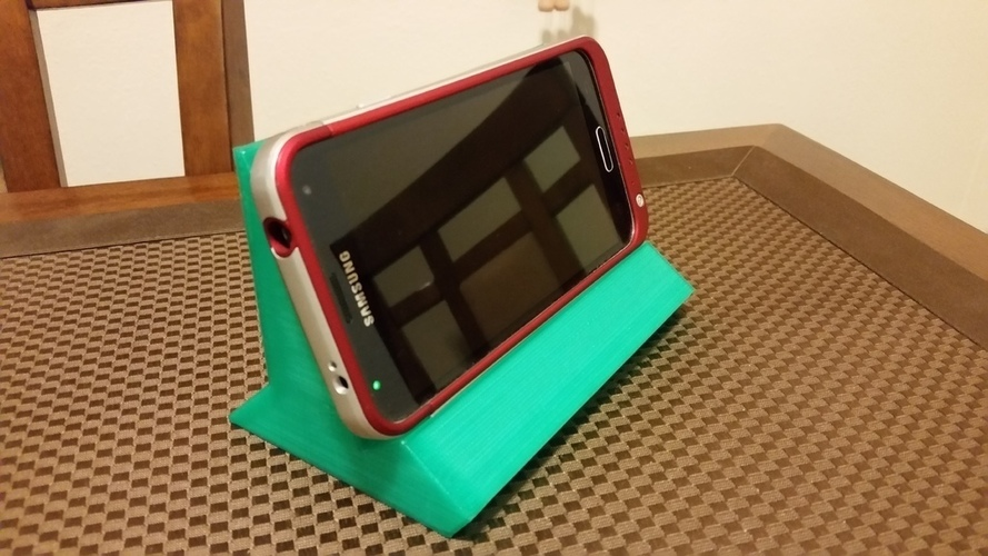 Yet another cell phone + iPad stand 3D Print 109952