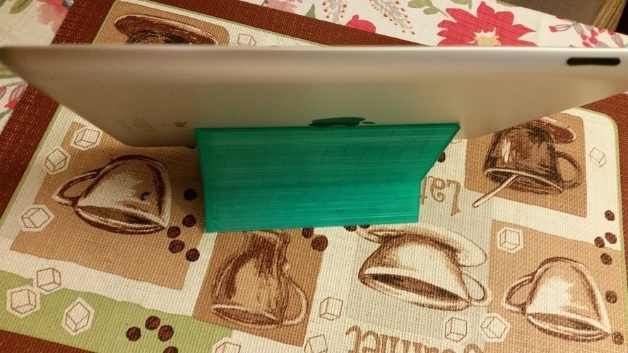 Yet another cell phone + iPad stand 3D Print 109955