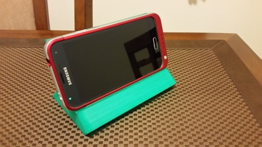 Yet another cell phone + iPad stand 3D Print 109956