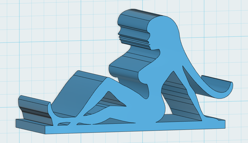 Mud Flap Girl iPhone stand 3D Print 110066