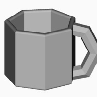 Small coffee cup 3D Printing 110097