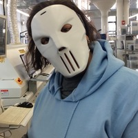 Small Casey Jones mask 3D Printing 110098