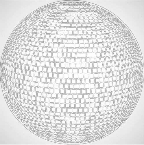 Disco Ball coaster 3D Print 110103