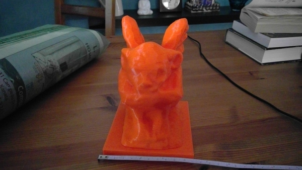 Medium Gargoyle - no text 3D Printing 110139