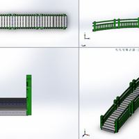 Small Garden Walk Bridge 3D Printing 110155