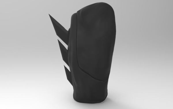 Medium Batman Gauntlet (Cosplay) 3D Printing 110316