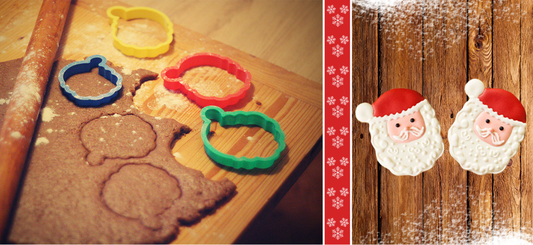Santa Claus Cookie Cutter 3D Print 110370