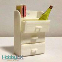 Small Miniature furniture drawers toy for sylvanian families 3D Printing 110397