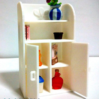 Small Miniature furniture shelf cabinet toy for sylvanian families 3D Printing 110408