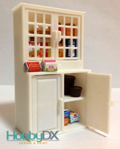 Miniature furniture cabinet toy for sylvanian families 3D Print 110414
