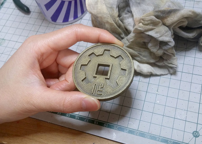 SexyCyborg's Chinese Maker Coin 3D Print 110424