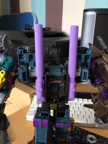 Bruticus Cannons 3D Print 110505
