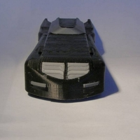 Small Batmobile from the animated serie of 1995 3D Printing 110602