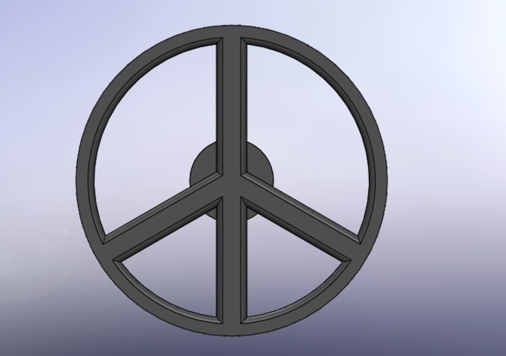 Peace & Love WheelBot  3D Print 110653