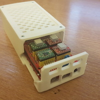 Small Arduino Due and Mega + shield enclosure 3D Printing 110669